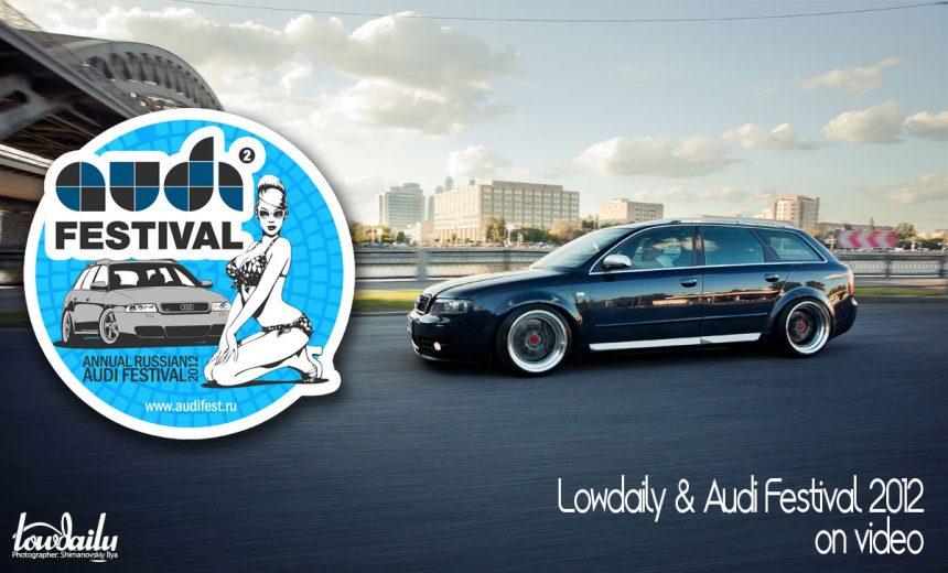 Audi S4 & Audi Festival 2012 Video.
