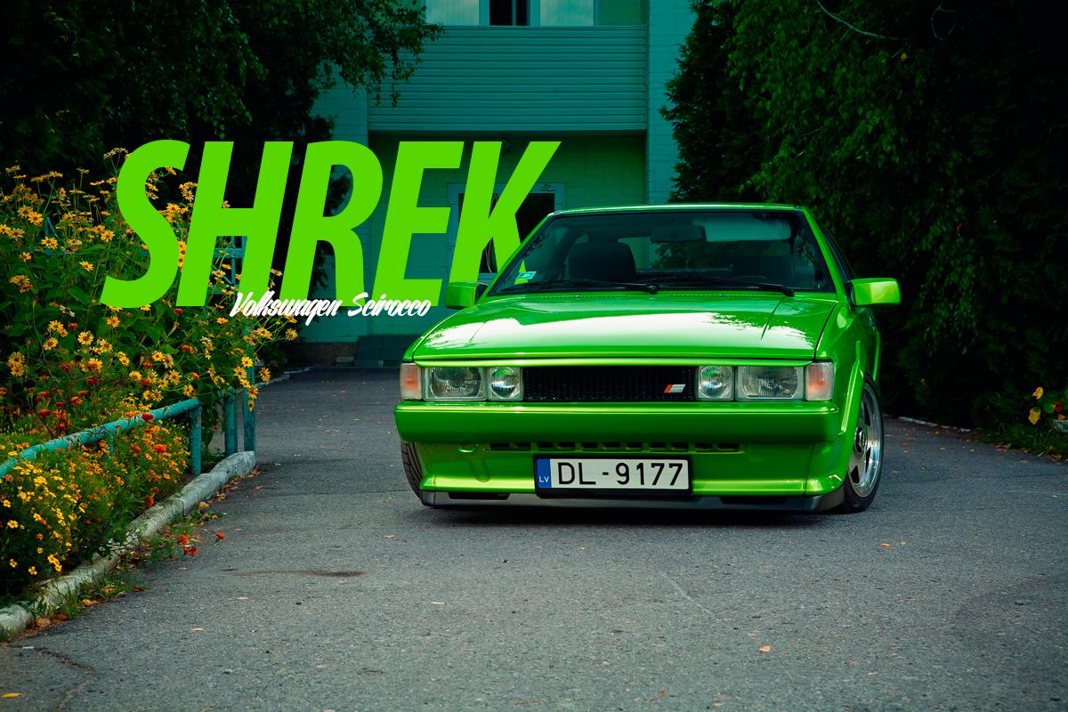 Volkswagen Scirocco - SHREK