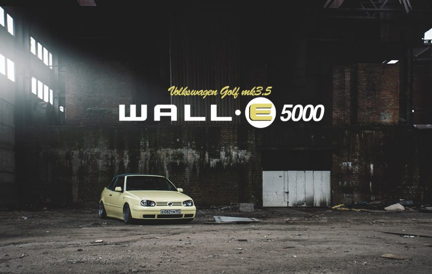Volkswagen Golf mk3.5 WALL-E5000