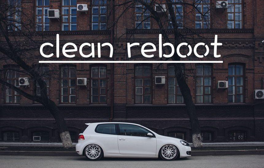 Сlean reboot | Volkswagen Golf mk6 ROTIFORM