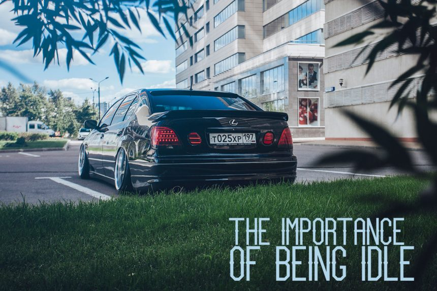The importance of being idle | Lexus GS300 VIP