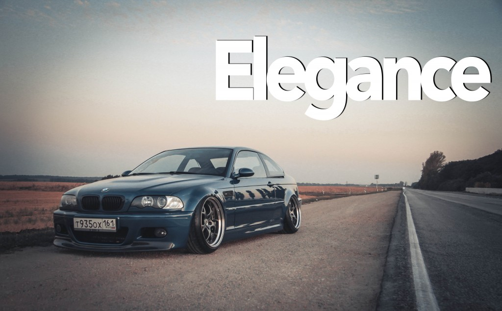 Elegance   BMW M3 E46