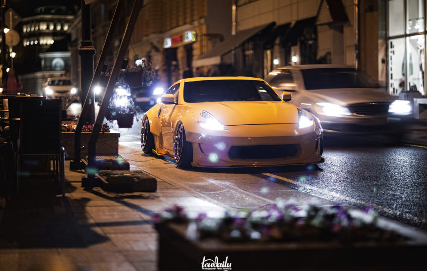 No turning back| Nissan 370Z