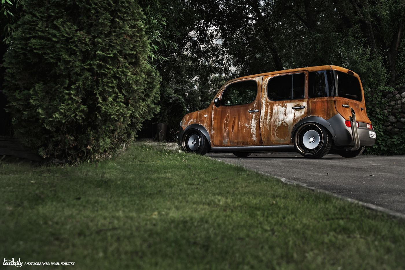 Nissan Cube - Is no rust to crime
