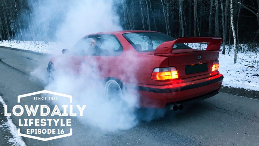 BMW e36 Turbo, BURNOUT, Volkswagen Golf mk1, Garage – Shimfoto, Lifestyle Episode 16.