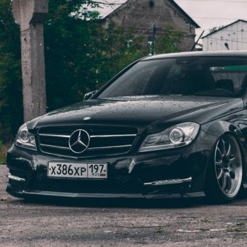 Mercedes-Benz C-class & Work Emotion xd9