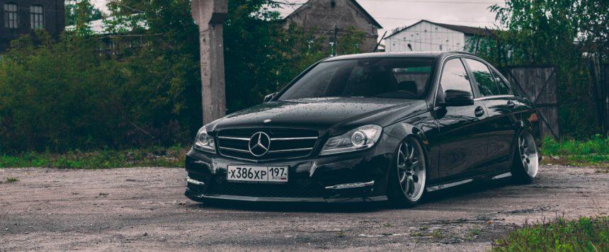 Mercedes-Benz C-class & Work Emotion xd9