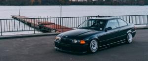 BMW E36 Coupe - Ronal Turbo - Custom Wheels.