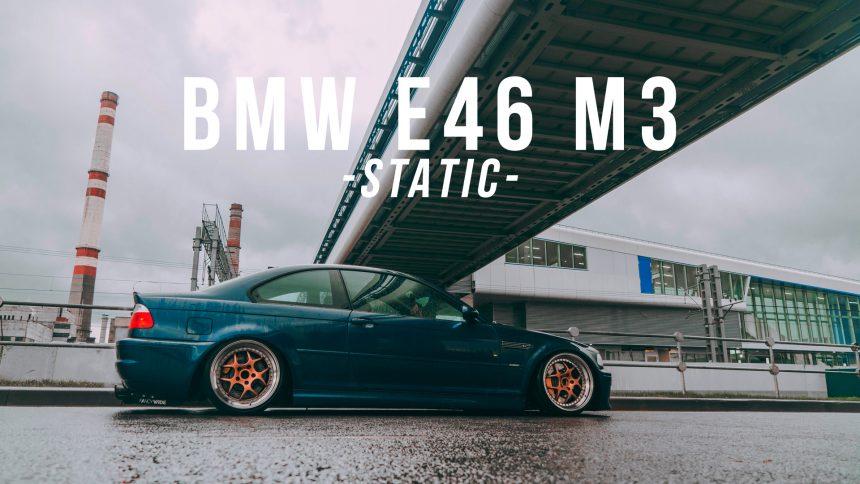 BMW E46 M3 – Static – Schmidt – Fancywide – 4K