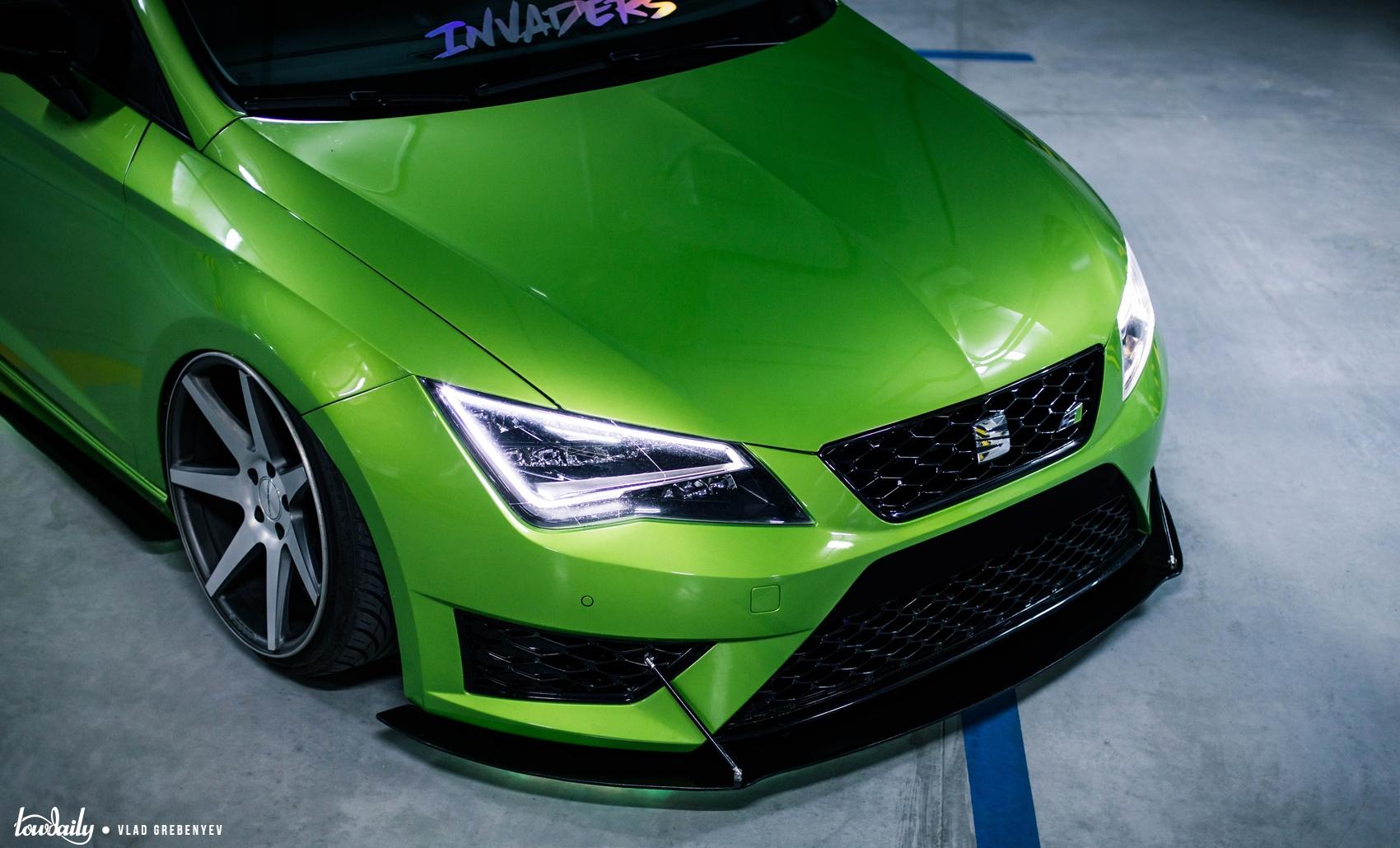 Seat Leon - Green