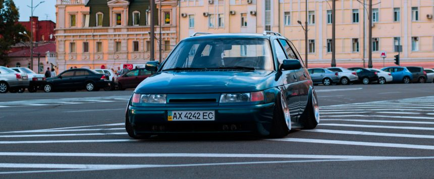 Lada – ВАЗ – 2111 – Live in stance