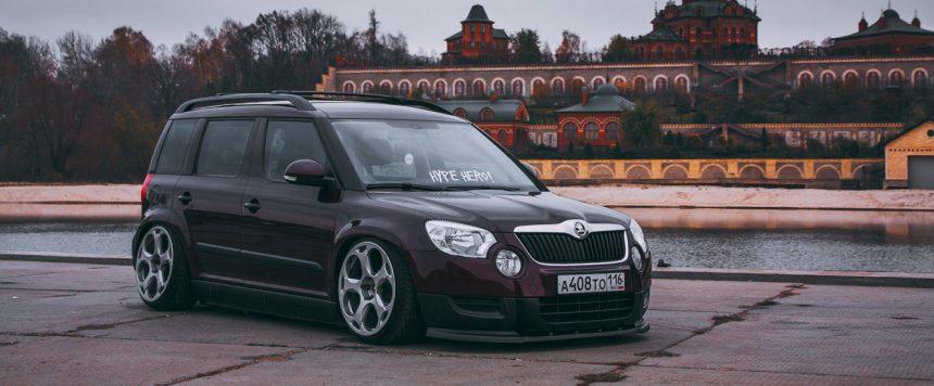 Skoda Yeti + Lambo wheels