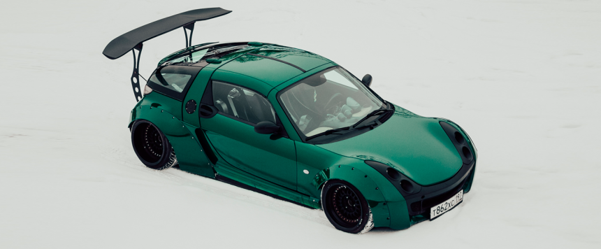 SMART Roadster – Static – Widebody