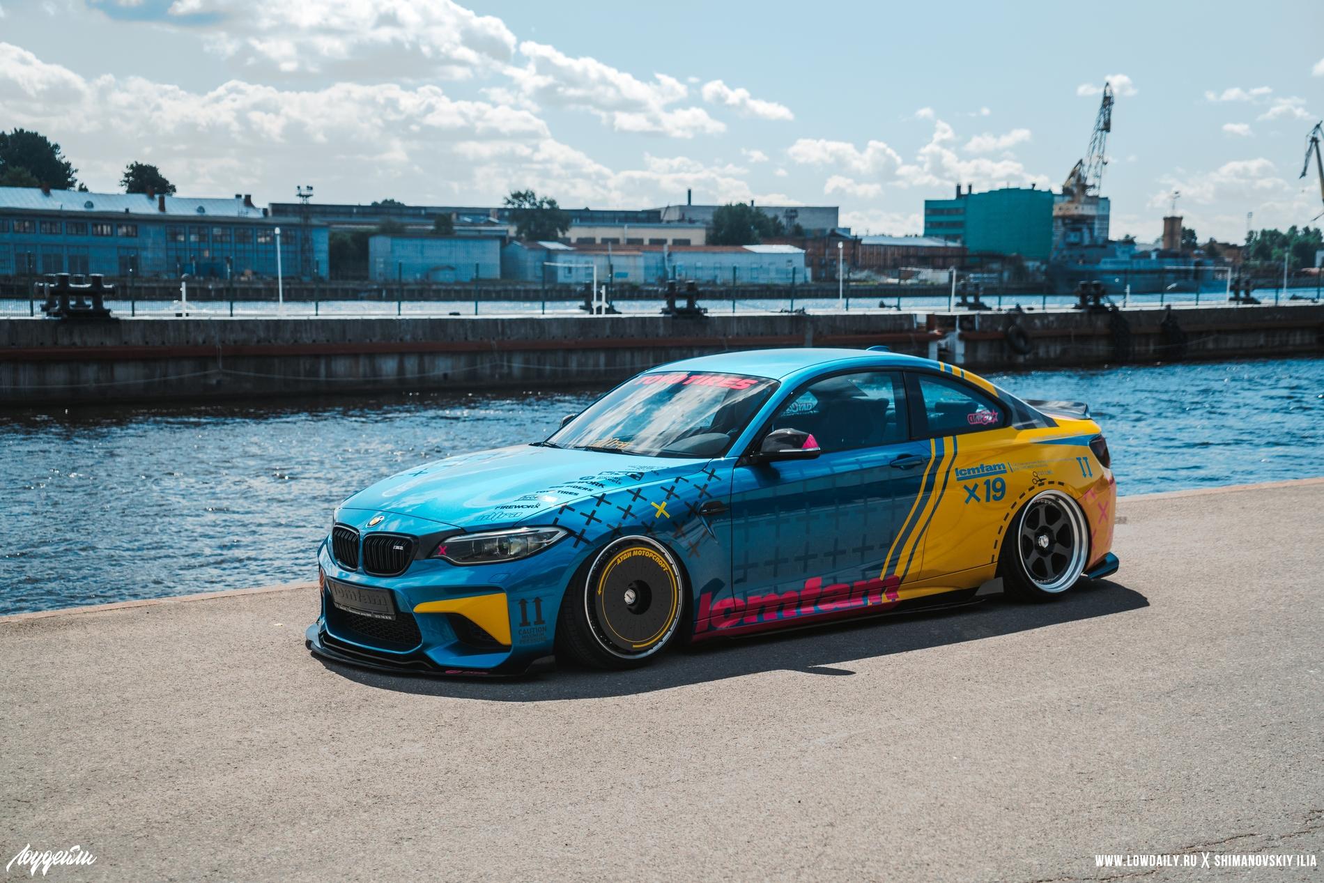 BMW M2 Low Cars Meet DSC04956