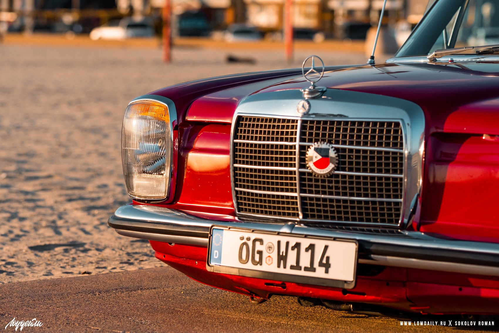 1972 Mercedes-Benz 250 - Chassis- W114