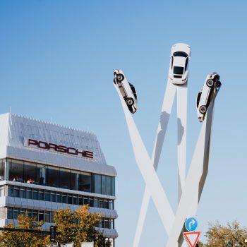 Музей Porsche Штутгарт