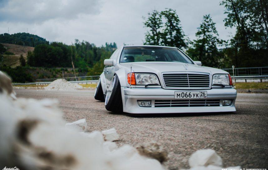 Mercedes-Benz W140 Static