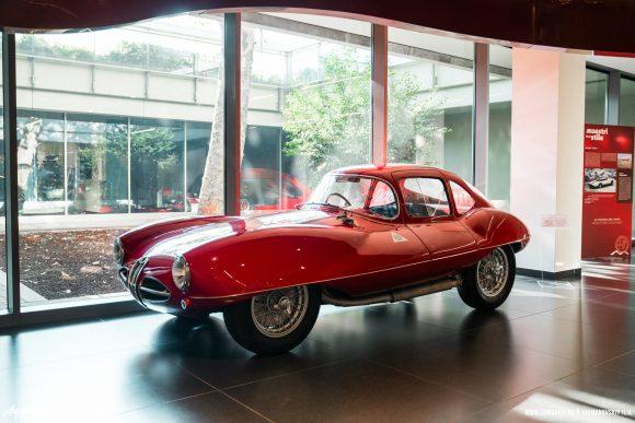 Музей Alfa-Romeo в Италии. Милан.