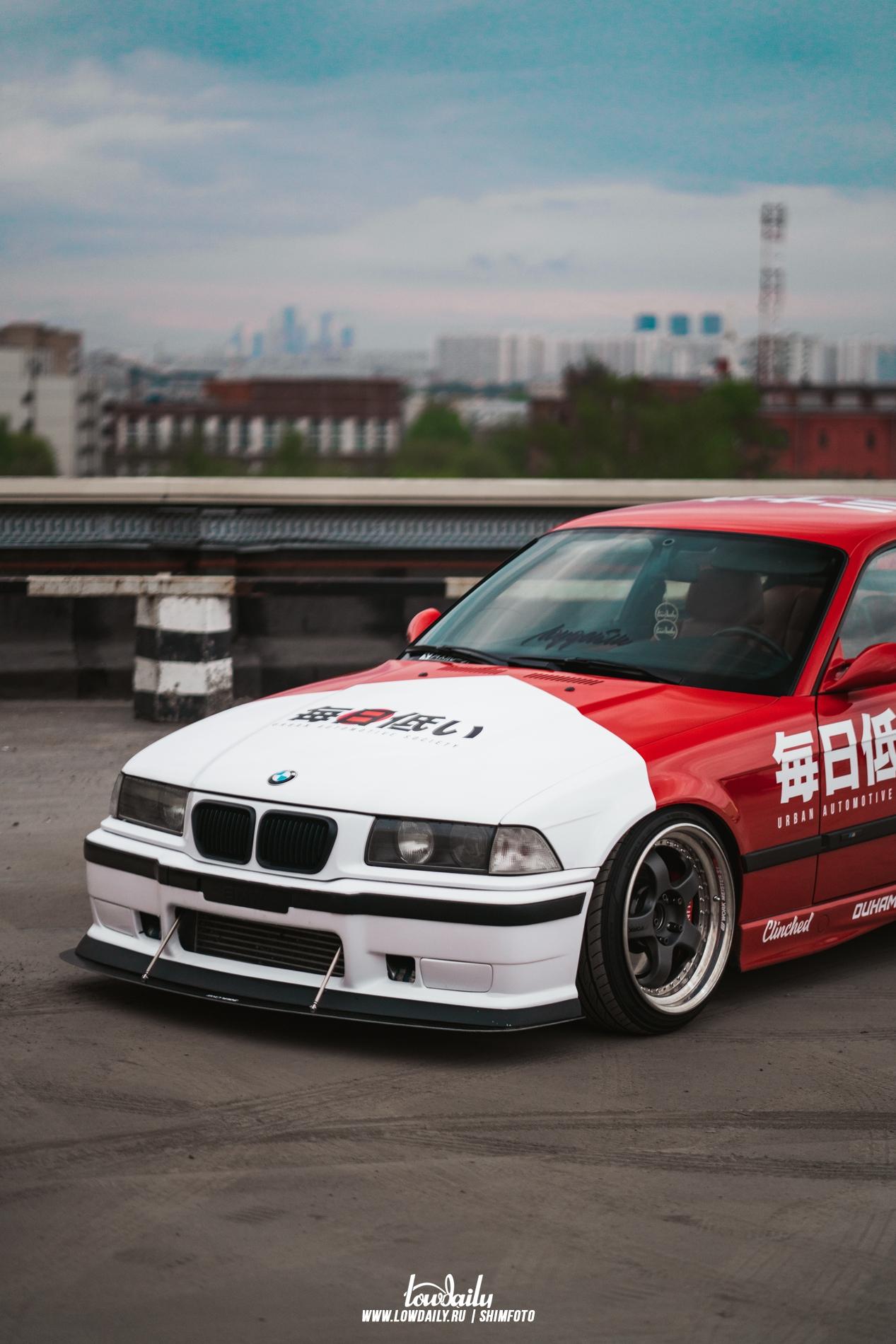 BMW E36 — Twinturbo 2JZ GTE DSC02847