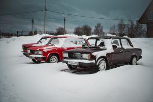 Мотопарк Вельяминово - Зимний дрифт на Жигулях
