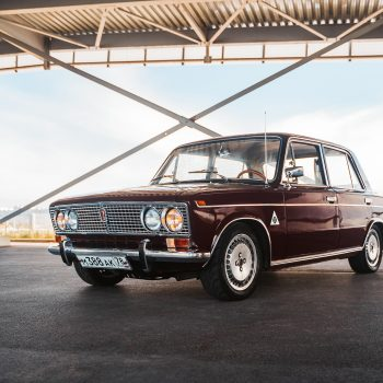 Жигули 2103 в духе старых Alfa Romeo.