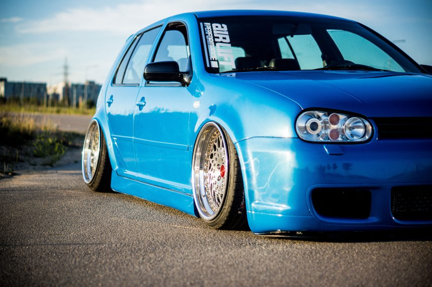 VW Golf 4 – Bagged