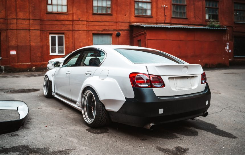 Lexus GS430 widebody