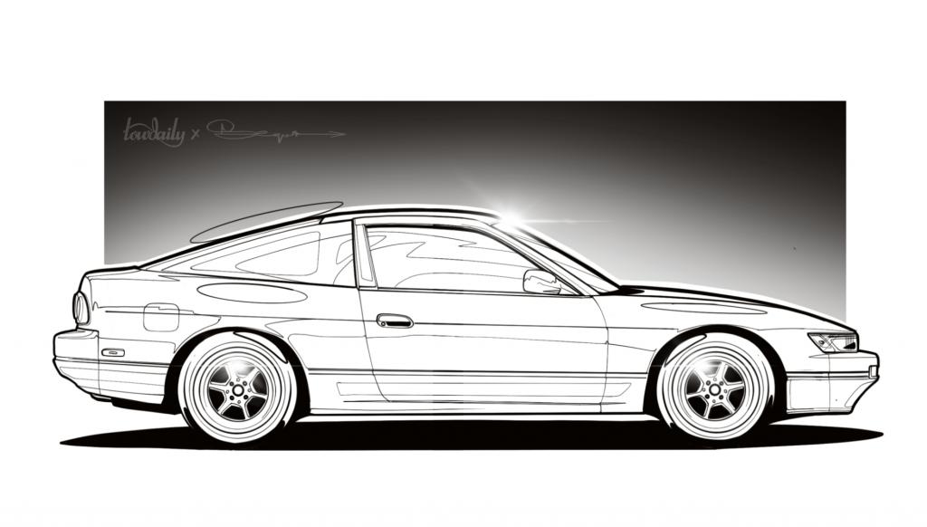 Nissan Silvia - OneVia VS OneEighty