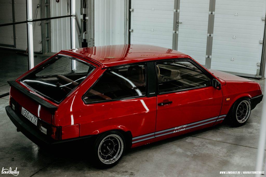 Lada 2108 - Rosso Corsa