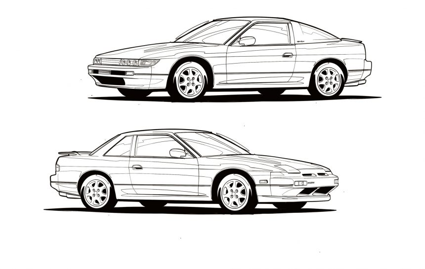 Nissan Silvia – onevia VS sileighty