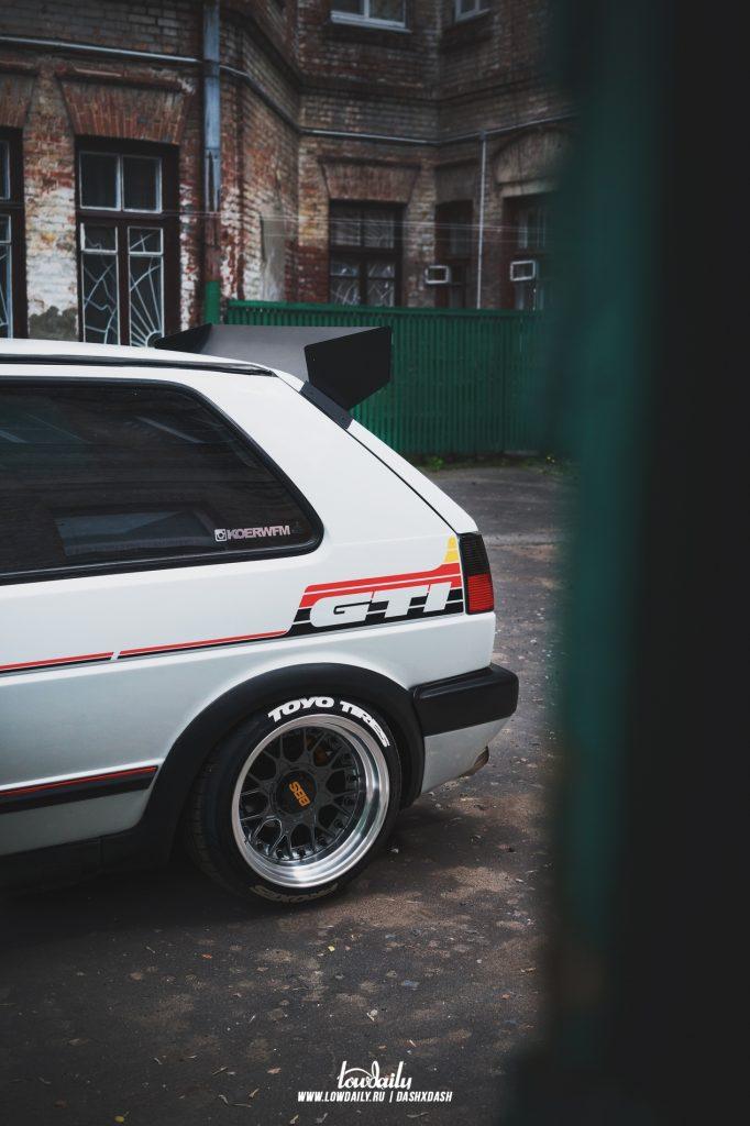 VOOMERAN Volkswagen Golf mk2 AUDI, BBS