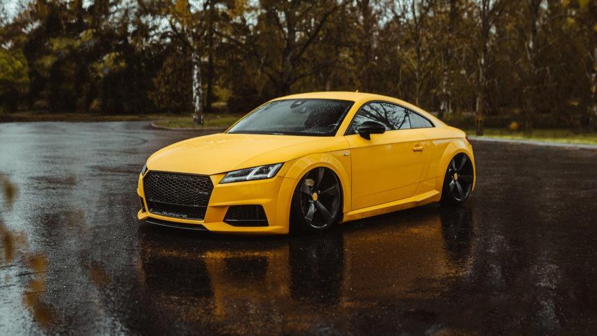 Audi TT – VEGAS YELLOW