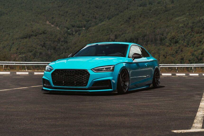 Audi A5 – Porsche Blue