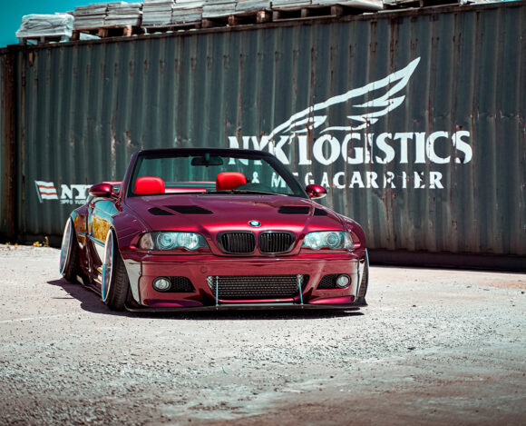 BMW E46 – Wildberry Red Pandem