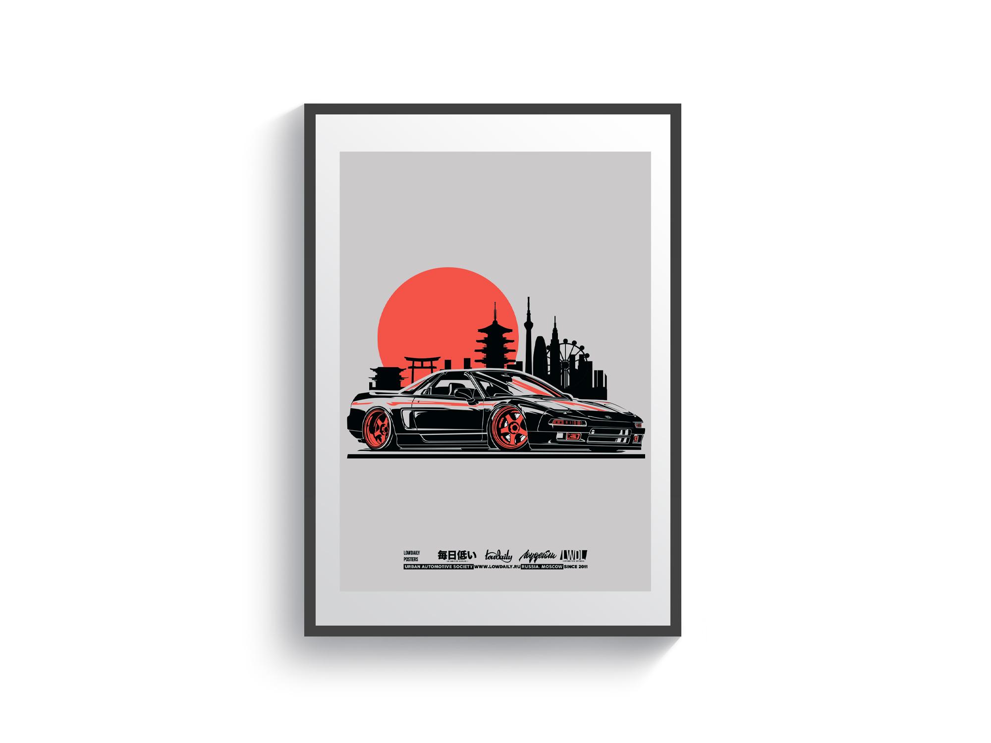 Постер Honda NSX