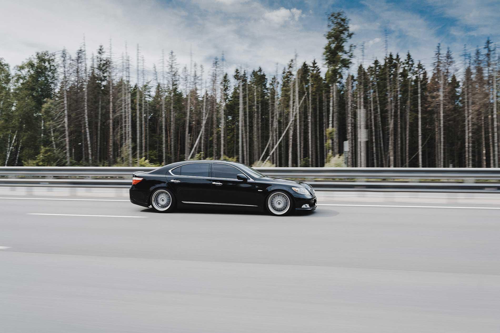 Lexus LS460 Long - Максимальный стиль.