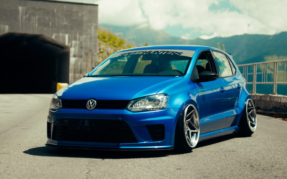 Bagged Widebody VW Polo