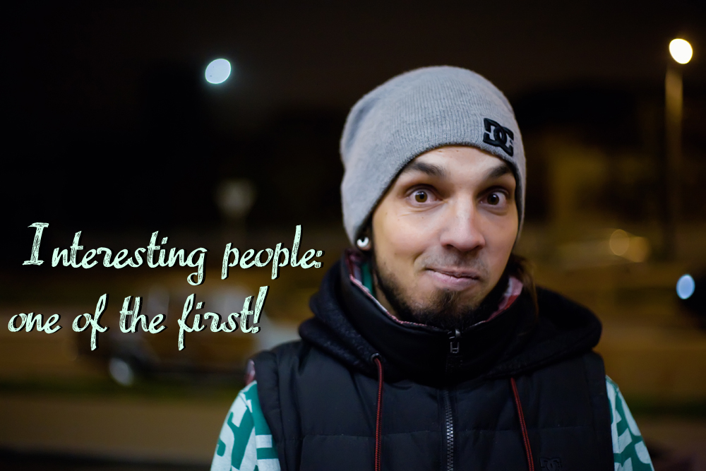 Interesting people: one of the first!