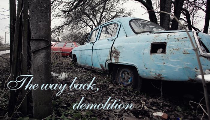 The way back, demolition. WHAT ABOUT KIEV (UA), PART 6