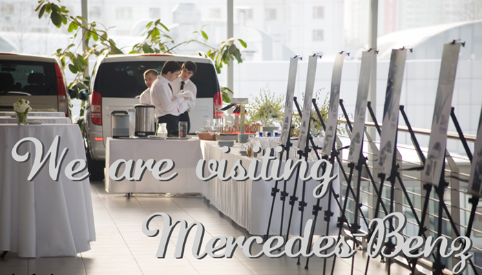 We are visiting Mercedes-Benz