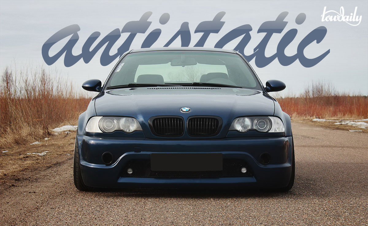 BMW 3 series Coupe antistatic