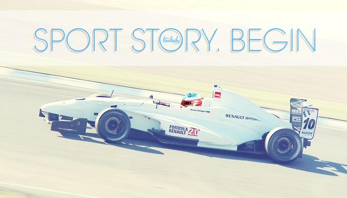 Sport Story. Begin