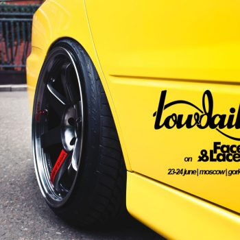 Mitsubishi Lancer EVO on faces&laces 2012. | Video