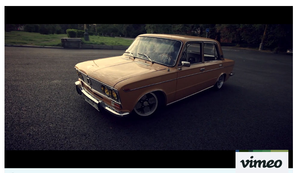 I love it. Vaz 2103 on air | Video