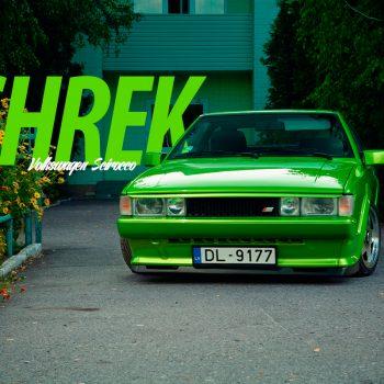 SHREK Volkswagen Scirocco