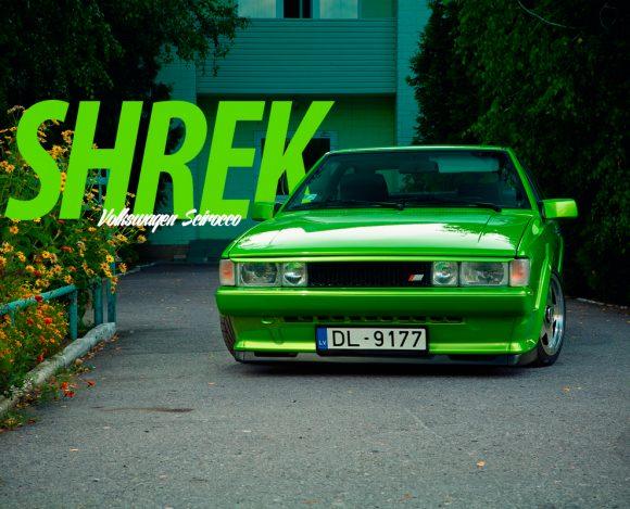 Volkswagen Scirocco — SHREK