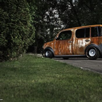 Nissan Cube — Is no rust to crime