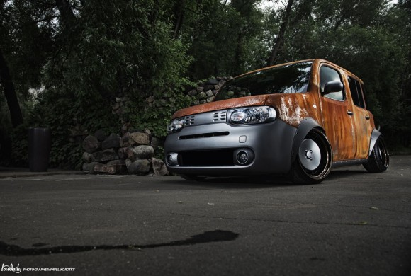 Is no rust to crime | Nissan Cube