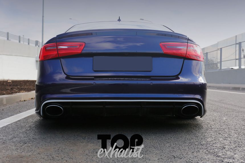 Video #topexhaust — Audi A6 (C7) 3.0 TFSI.