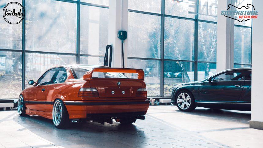 BMW E36 Lowdaily X Silverstone Detailing